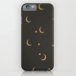 Moons Pattern iPhone Case