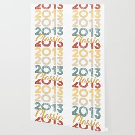 Vintage Classic 2013 Shirt 5th Birthday Party Celebration Gifts Wallpaper