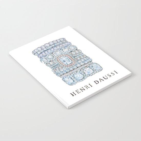 Henri Daussi Notebook