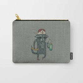 "Raccoon wearing human ""hat"" Carry-All Pouch"