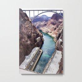 Hoover Dam III Metal Print
