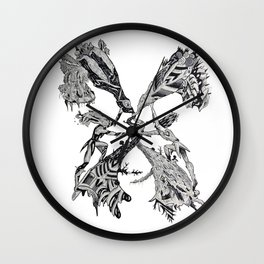 Gemini (Castor and Pollux) Wall Clock
