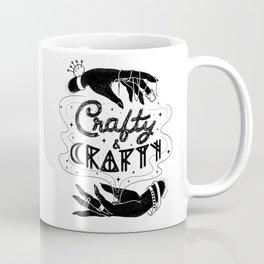 Crafty & Crafty - B&W Coffee Mug