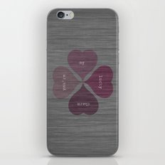 YOU'RE MY LUCKY CHARM  iPhone & iPod Skin