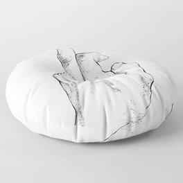The Finger Floor Pillow