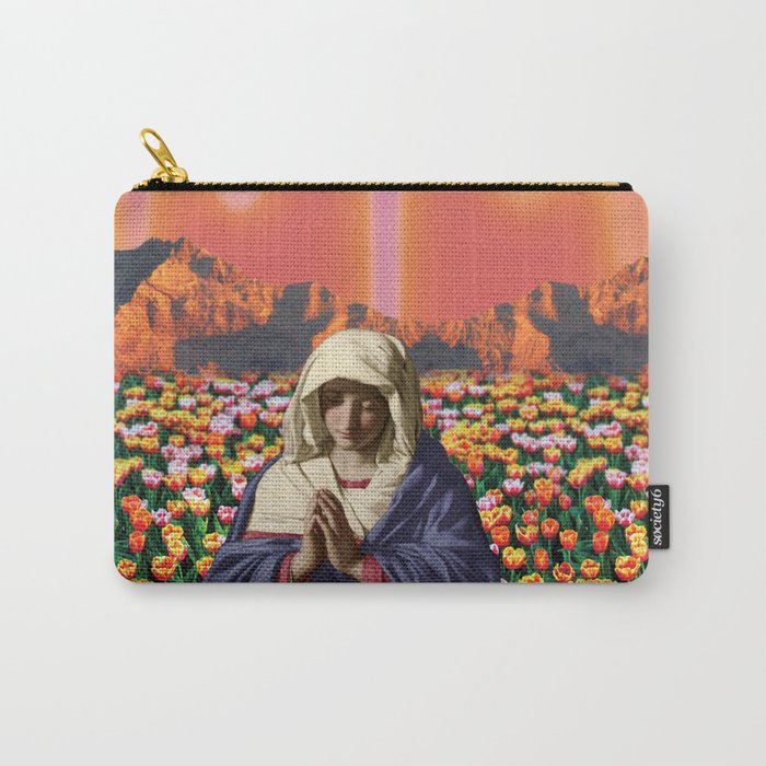 Psychedelic Garden Carry-All Pouch
