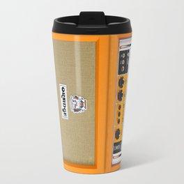 Retro Orange guitar electric amp amplifier iPhone 4 4s 5 5s 5c, ipad, tshirt, mugs and pillow case Travel Mug
