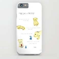 the lion  and the mouse. iPhone 6s Slim Case