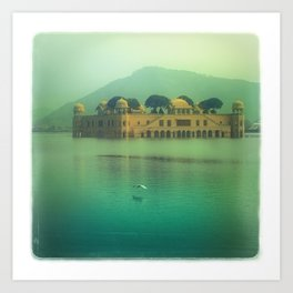 Jaipur Water Palace Art Print