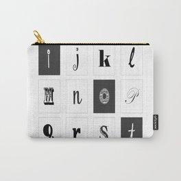 Alphabet Art Carry-All Pouch