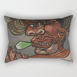 Pablo Picasso - Man with a Lollipop Rectangular Pillow