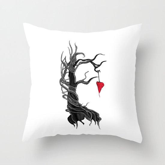 Love, like a tree Throw Pillow
