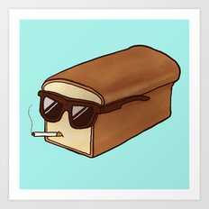 Cool Bread Art Print