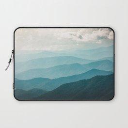 Turquoise Smoky Mountains - Wanderlust Nature Photography Laptop Sleeve