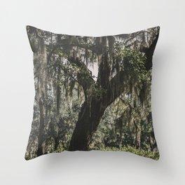 Savannah Spanish Moss Throw Pillow