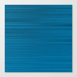 Absolute Ocean Blue Texture Canvas Print