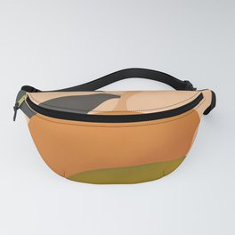 An Orange and a Lemon Fanny Pack
