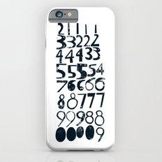 Numbers b/v Slim Case iPhone 6s
