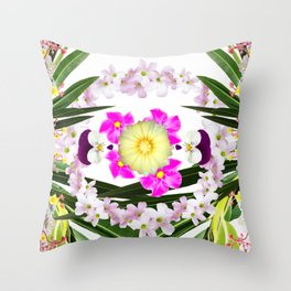 Stay green #7 Throw Pillow