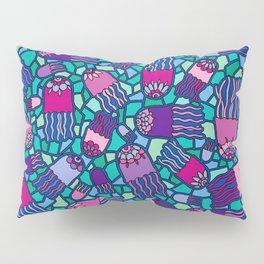 Mosaic Jellyfish Pillow Sham