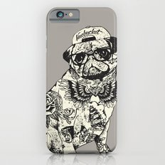 Pug Tattoo Slim Case iPhone 6s