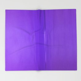 Abstract Purples Throw Blanket