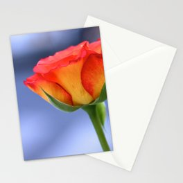 """Love planted a rose and the world turned sweet"" Stationery Cards"