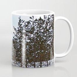 Windmill Through the Trees Coffee Mug