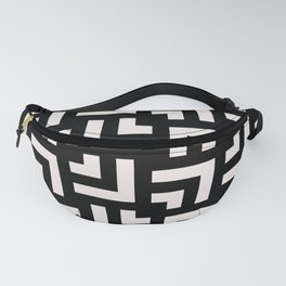Bold geometric pattern - Stripe Tile Fanny Pack