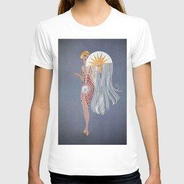 "1920's Art Deco Design ""The Flapper"" T-shirt"