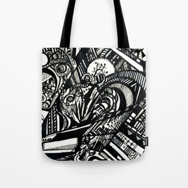 Fractalscape Tote Bag