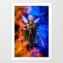 Frost Giant & Bringer of Ragnarok Art Print