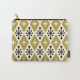Mid Century Modern Atomic Triangle Pattern 109 Carry-All Pouch