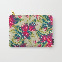 New Zealand Rata floral print (Day) Carry-All Pouch