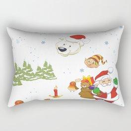 Ho,HO,Ho I am Good Dude Rectangular Pillow