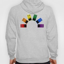 Gay Pride Rainbow Flag - Guitar Effects Pedals Hoody