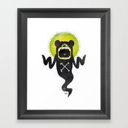SALVAJEANIMAL ghost Framed Art Print