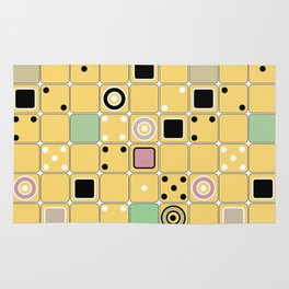 Geometrical abstract pattern 2 Rug