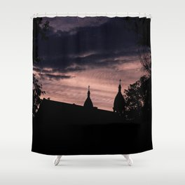 Stormy Night in Montreal Shower Curtain