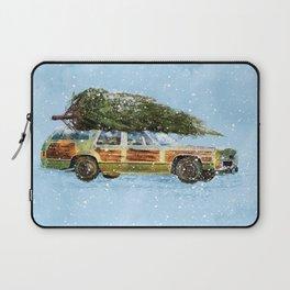 Christmas Station Wagon Laptop Sleeve