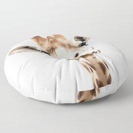 Giraffe Head Floor Pillow