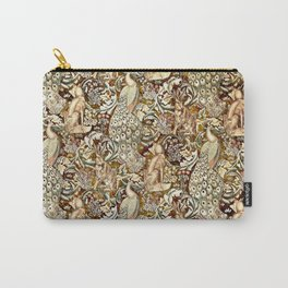 William Morris Forest Tapestry Pattern Carry-All Pouch