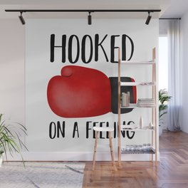 Hooked On A Feeling | Boxing Glove Wall Mural