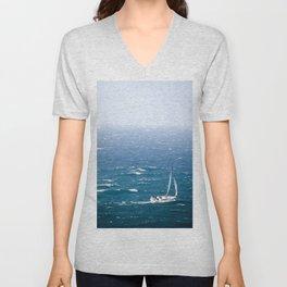 Sail Away Unisex V-Neck