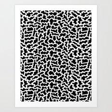 Geo Giraffe Art Print