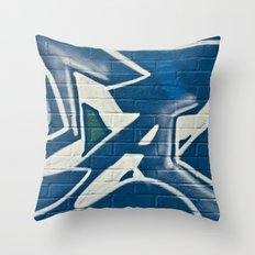 Bristol Graffiti 01 Throw Pillow