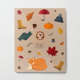 Autumn days Metal Print