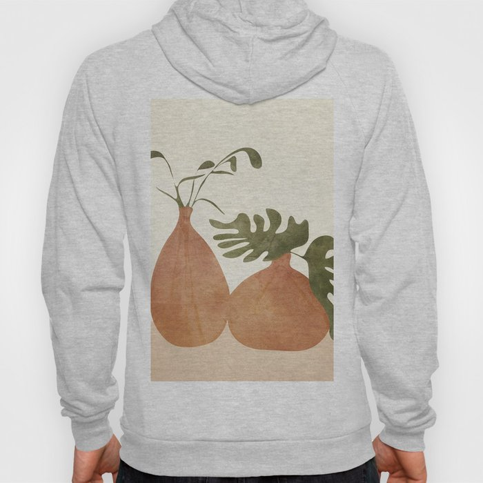Two Living Vases Hoody