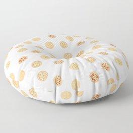 Pizza Polka Dots Floor Pillow