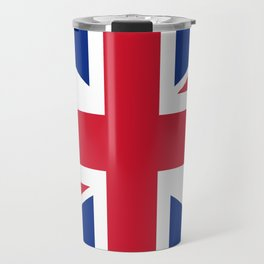 UK FLAG - The Union Jack Authentic color and 1:2 scale  Travel Mug